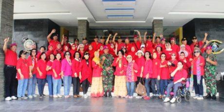 Alumni AAL-11 Kunjungi Sarang Petarung Harimau Sumatera Brigif-3 Mar