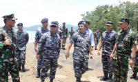 Wakasal Kunjungi Sarang Petarung Harimau Sumatera Brigif-3 Mar