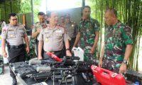 Kapolda Lampung Kunjungi Brigif-3 Marinir