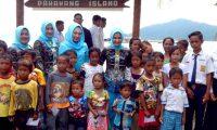 Pencanangan Kampung KB Desa Pulau Pahawang