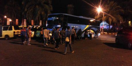 Bus PO Terminal Raja Basa Berasap