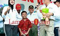 Bupati Lampung Timur Gelar Fun Bike & Jalan Sehat