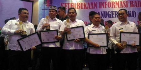 Pemkab Tanggamus Raih Peringkat ke III Anugerah Keterbukaan Informasi Tingkat Provinsi Lampung (ADV)