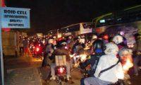 Arus Mudik Di Lampung Timur Meningkat, Polisi Terus Bersiaga