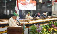 Anna Morinda Pimpin Paripurna HUT Lampung Ke-54 Di Kota Metro