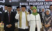 Arinal-Nunik Apresiasi KPU Batalkan Rencana Debat Kandidat di Jakarta